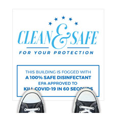 Clean and Safe For Your Protection