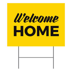 Yellow Welcome Home